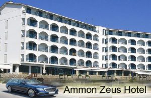 Airport taxi transfers to Ammon Zeus Hotel Kalithea
