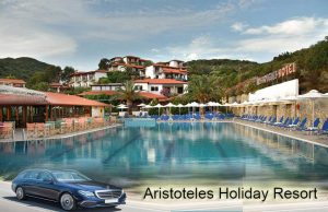 Airport taxi transfers to Aristoteles Holiday Resort SPA Hotel Ouranoupoli