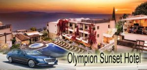 Airport taxi transfers to Olympion Sunset Fourka Halkidiki