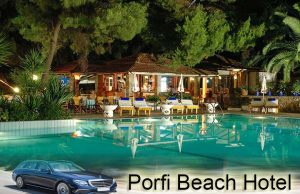 Airport taxi transfers to Porfi Beach Hotel Nikiti