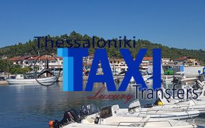 Flughafen taxi transfers fahrt nach Nea Skioni Chalkidiki