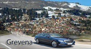 Flughafen taxi transfers fahrt nach Grevena