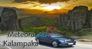 Flughafen taxi transfers fahrt nach Meteora Kalabaka