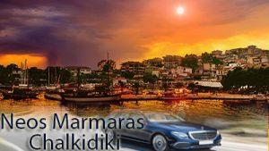 Taxi transfer de l'aéroport de Thessalonique à Neos Marmaras Chalkidiki