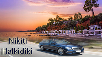 Flughafen taxi transfers fahrt nach Nikiti Chalkidiki