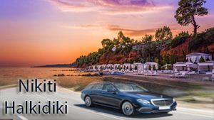 Airport Taxi Transfers to Nikiti Halkidiki