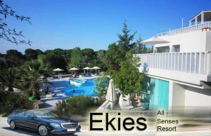 airport taxi transfers to Ekies All Senses Resort