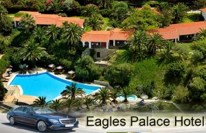 Airport taxi transfers to Eagles Palace Hotel Ouranoupoli