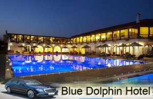 Airport taxi transfers to Blue Dolphin Hotel Metamorfosi