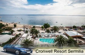 Airport taxi transfers to Cronwell Resort Sermilia Psakoudia
