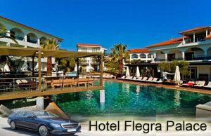 Airport taxi transfers to Flegra Palace Hotel Pefkochori