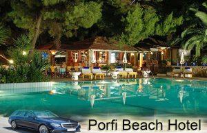 Airport taxi transfers to Porfi Beach Hotel Nikiti
