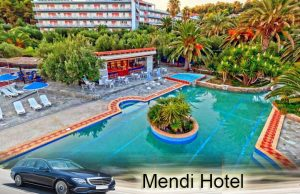 Airport taxi transfers to Mendi Hotel Posidi