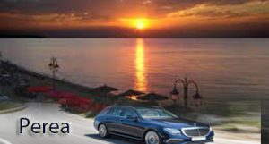Airport Taxi Transfers to Perea from Thessaloniki