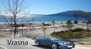 Airport Taxi Transfers to Vrasna from Thessaloniki