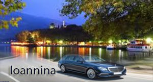 Airport Taxi Transfers to Ioannina from Thessaloniki