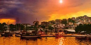 Taxi transfer de l'aéroport de Thessalonique à  Kelyfos Hotel Neos Marmaras Chalkidiki