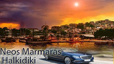 Taxi Transfers to Neos Marmaras Halkidiki